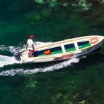 gita in barca di 1 ora con bagno e visita alla grotta verde e grotta del mago di ischia