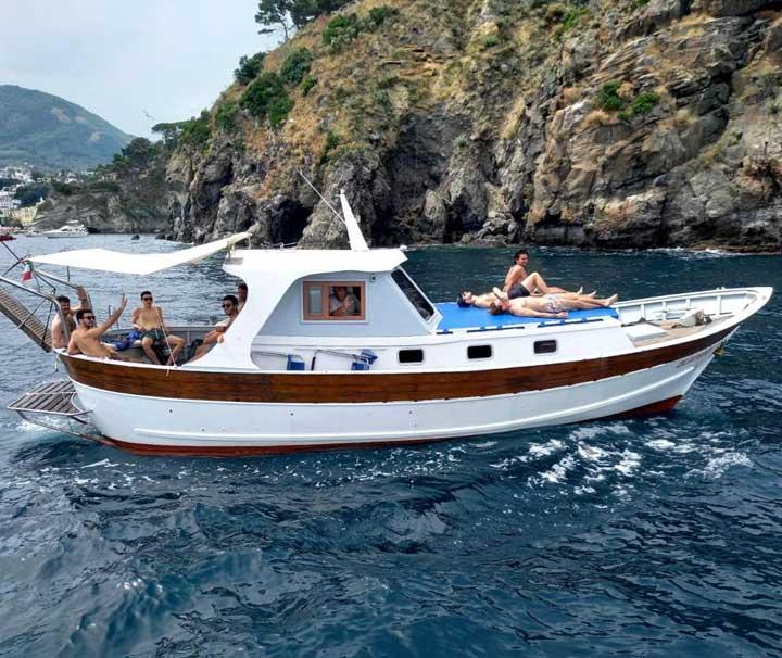 miniatura barca pazziella